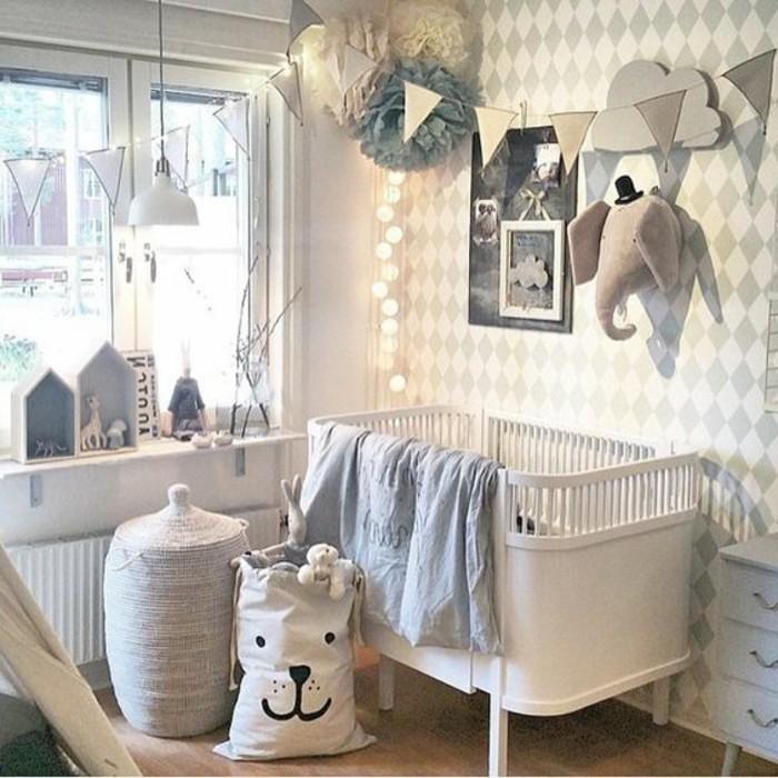 Chambre bebe deco famille et b b - Decoration chambre de bebe mixte ...