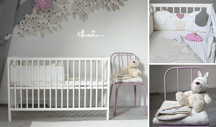 Cadre chambre bébé mixte
