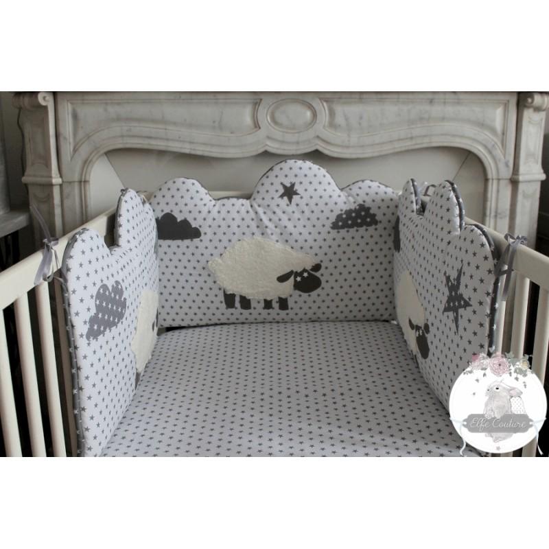tour de lit mouton bébé Chambre bebe 123 mouton   Famille et bébé tour de lit mouton bébé