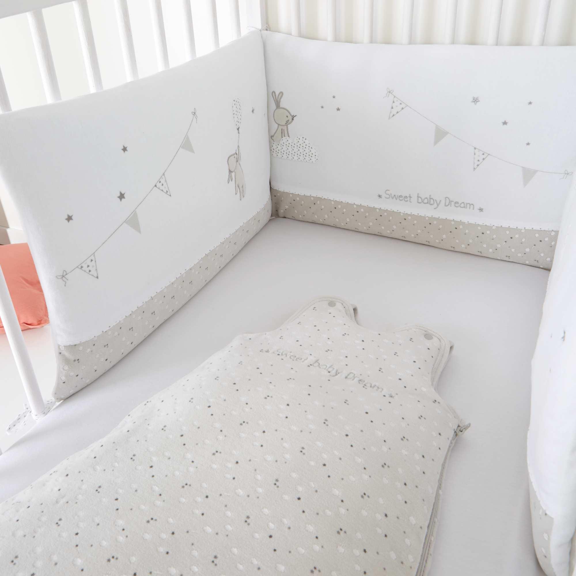 Tour de lit bébé pas cher kiabi - Famille et bébé