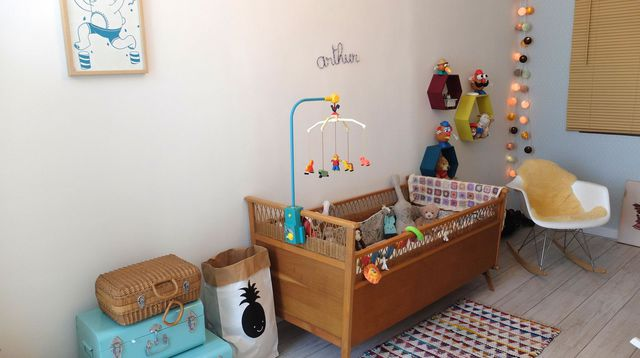 Deco chambre bebe fille vintage - Famille et bébé