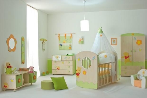 Chambre Bébé Vert Pomme