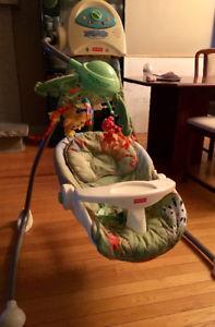 Balancoire bébé kijiji