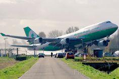 Toboggan boeing 747