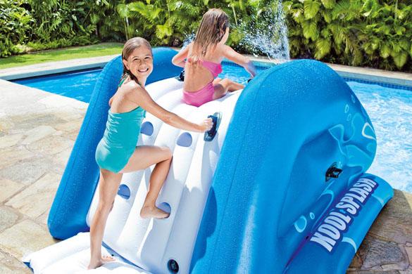 Toboggan piscine intex