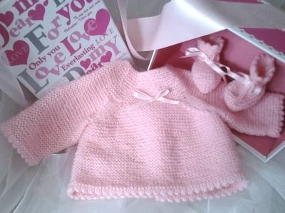 layette bebe facile a tricoter