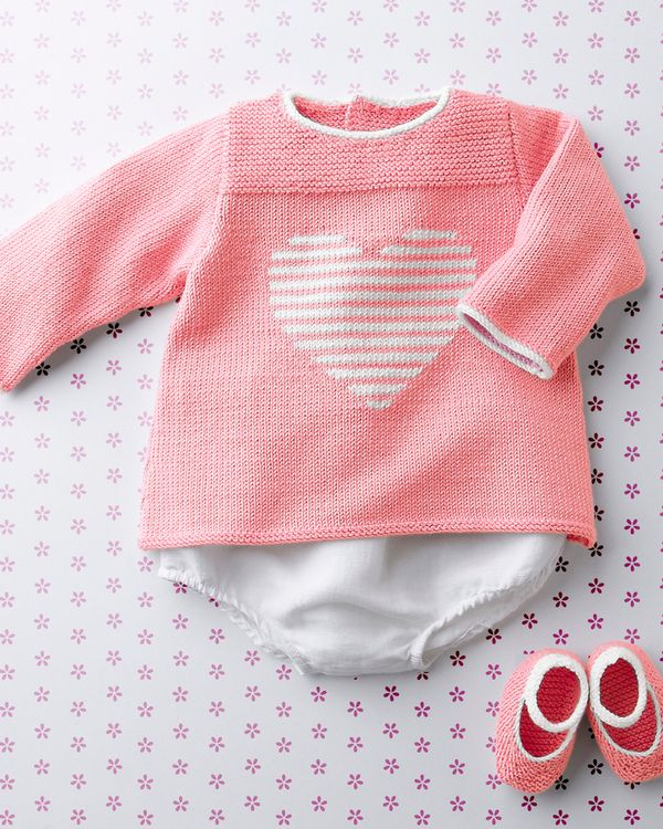 explication tricot layette naissance gratuit