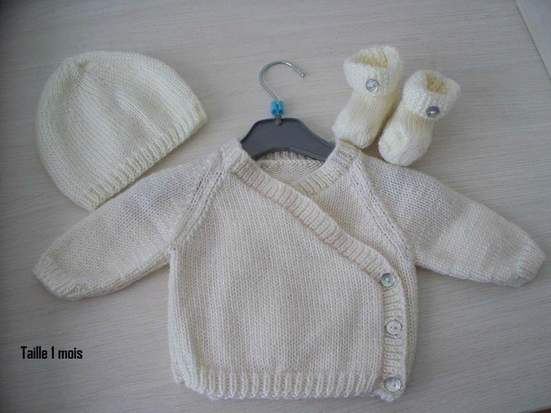 explication tricot bebe
