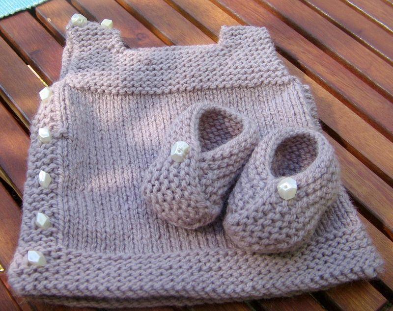 layette bébé tricot facile gratuit