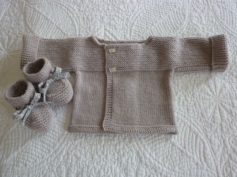 explication layette tricot