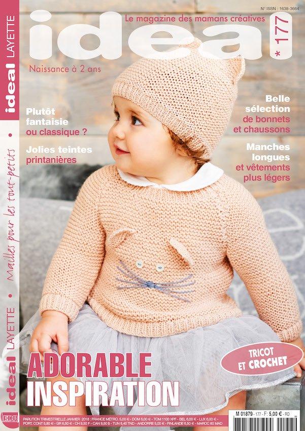 magazine tricot bébé