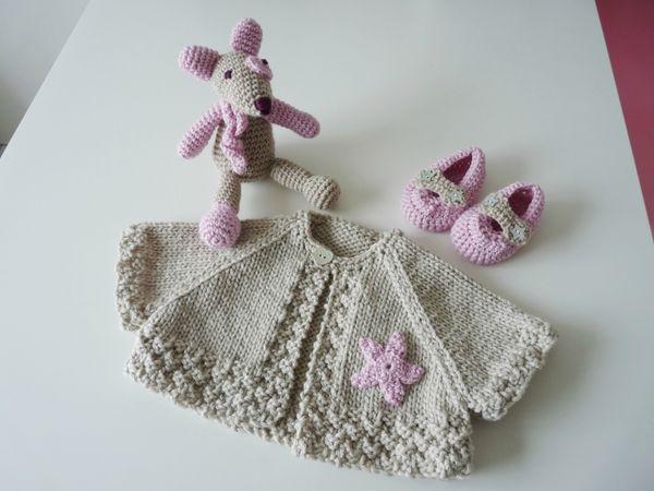 layette gratuite à tricoter