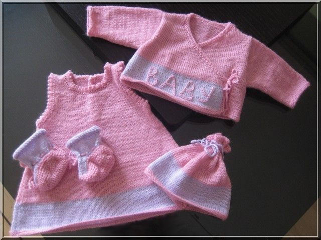 layette tricot fille