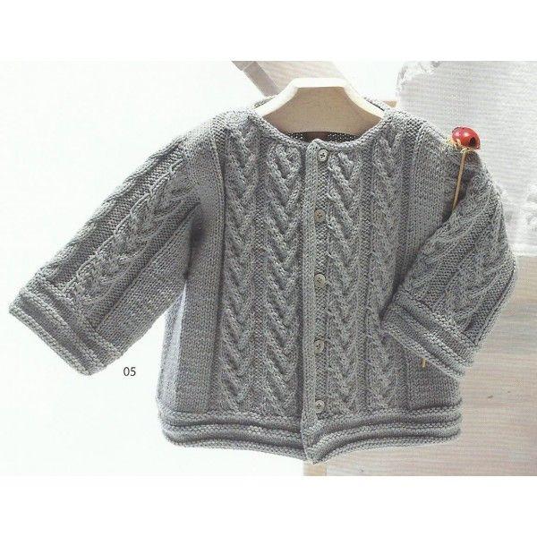 modèle de layette à tricoter gratuit