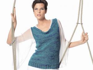 debardeur femme a tricoter gratuit