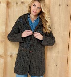 modèle veste femme tricot