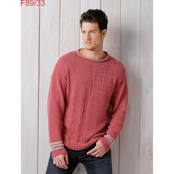 modele de pull homme à tricoter gratuit