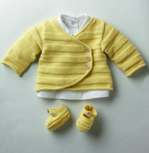 layette bébé a tricoter gratuit