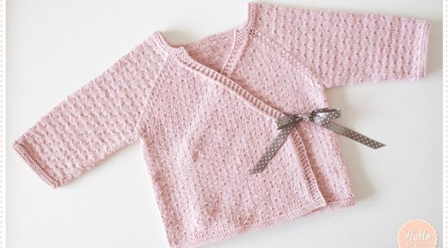 layette fille naissance a tricoter