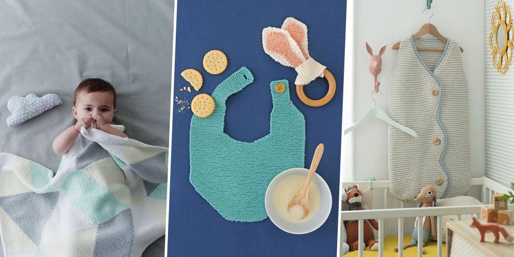 layette bebe facile a tricoter